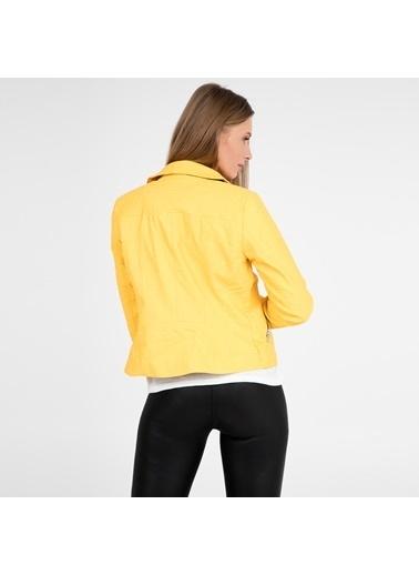 Only Ceket Sarı